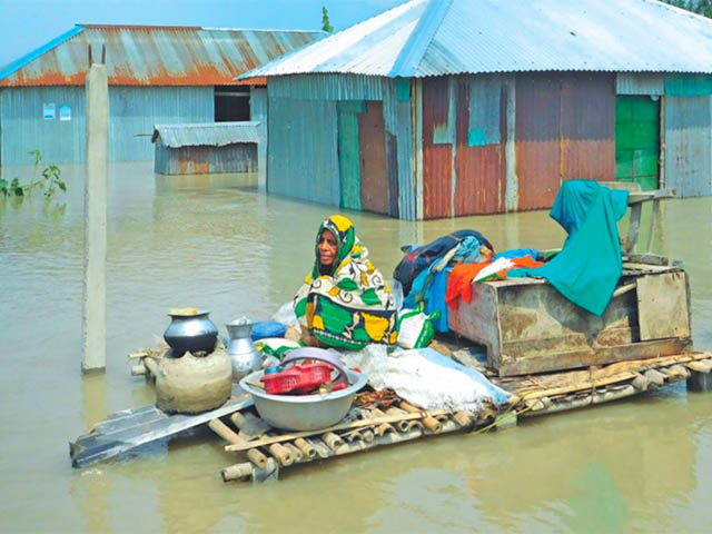 Bangladesh floods in 2019