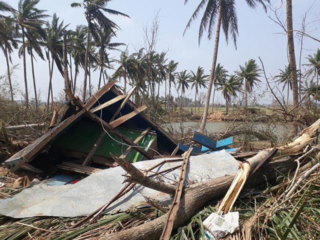 India hit by Cyclone Fani