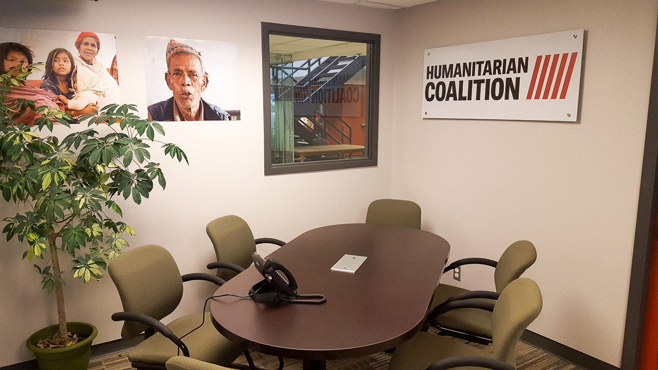 Humanitarian Coalition office