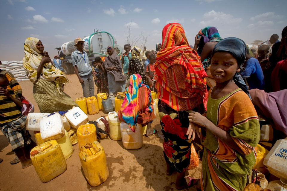 Humanitarian aid for East Africa Drought