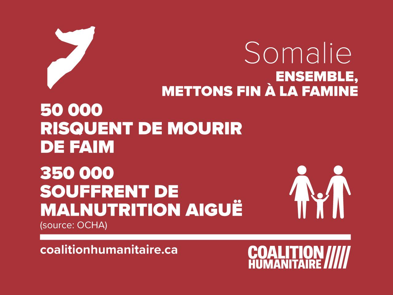 infographic crise alimentaire en Somalie