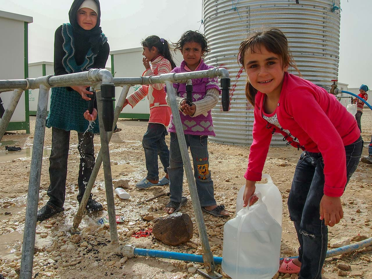 Syrian Refugee Crisis water aid