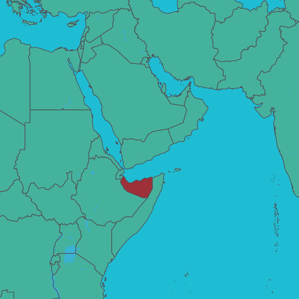 map of Somaliland in Africa