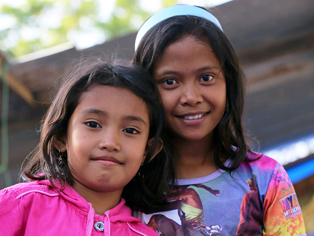 Help for children in Indonesia after earthquake hit in 2018